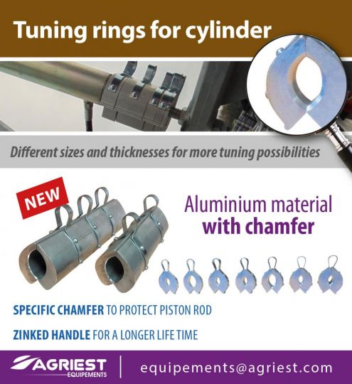 Tuning rings for cylinder